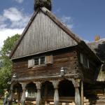 Chata mennonicka w Chrystkowie