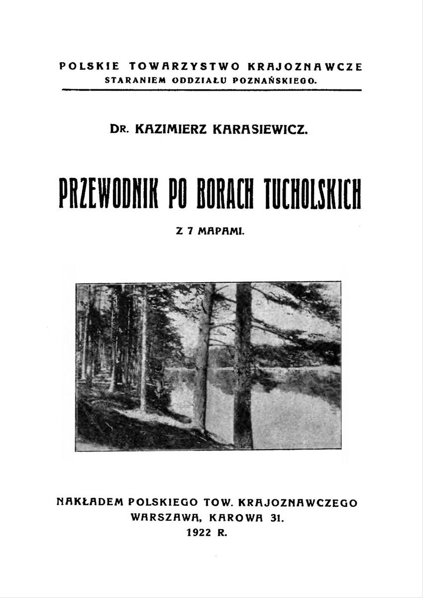 Karasiewicz - Przewodnik po Borach Tucholskich z 7 mapami, 1922_page_1