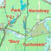 Park Narodowy Bory Tucholskie mapa pdf