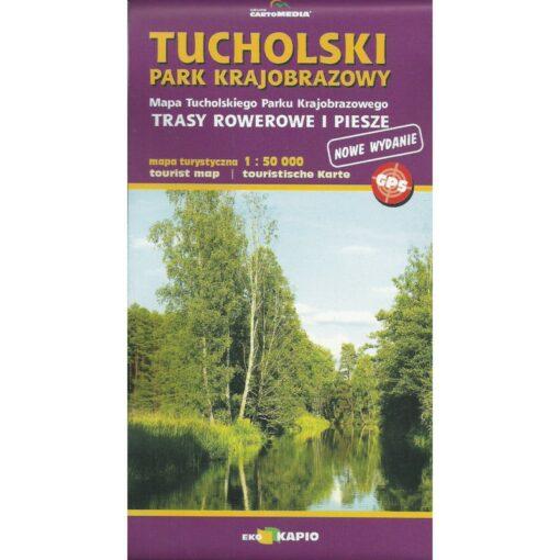 Tucholski Park Krajobrazowy - mapa - okładka