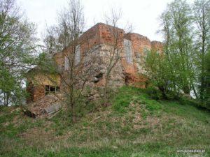 Szlak Zamkowy - zamek w Nowym Jasińcu