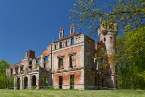 Ruiny Pałacu w Runowie Krajeńśkim