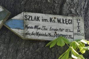 Szlak im. Łęgi (fot. ks. G. Kortas)