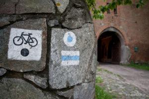 Szlak Zamek Bierzgłowski - Unisław | początek szlaku