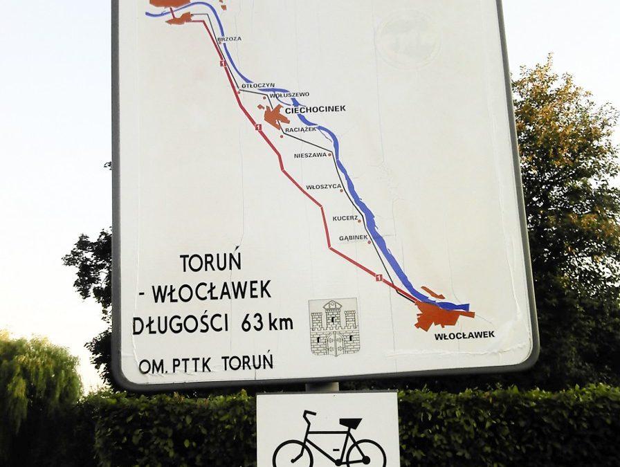 POMYSŁ NA WEEKEND: Z Torunia rowerem i pociągiem
