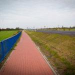 Najmniej ciekawy fragment trasy za Bydgoszczą