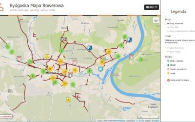 Bydgoska Mapa Rowerowa pod nowym adresem