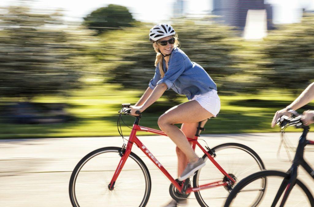 Ubrania na rower na lato