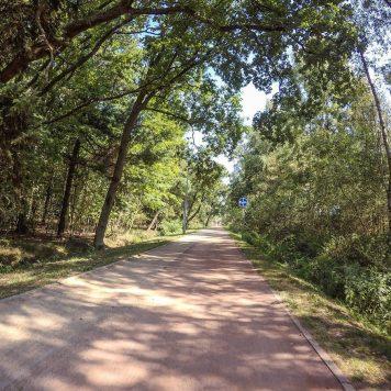 Szlak EuroVelo R13 na zachód od Kołobrzegu