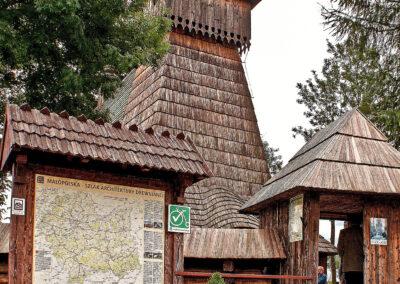 Velo Czorsztyn - Kościół w Dębnie