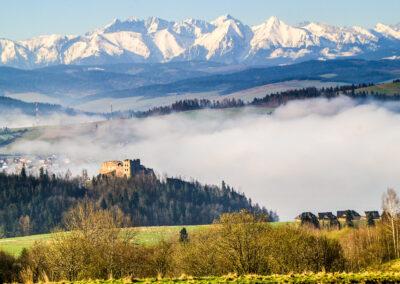 Czorsztyn - Zamek w Niedzicy