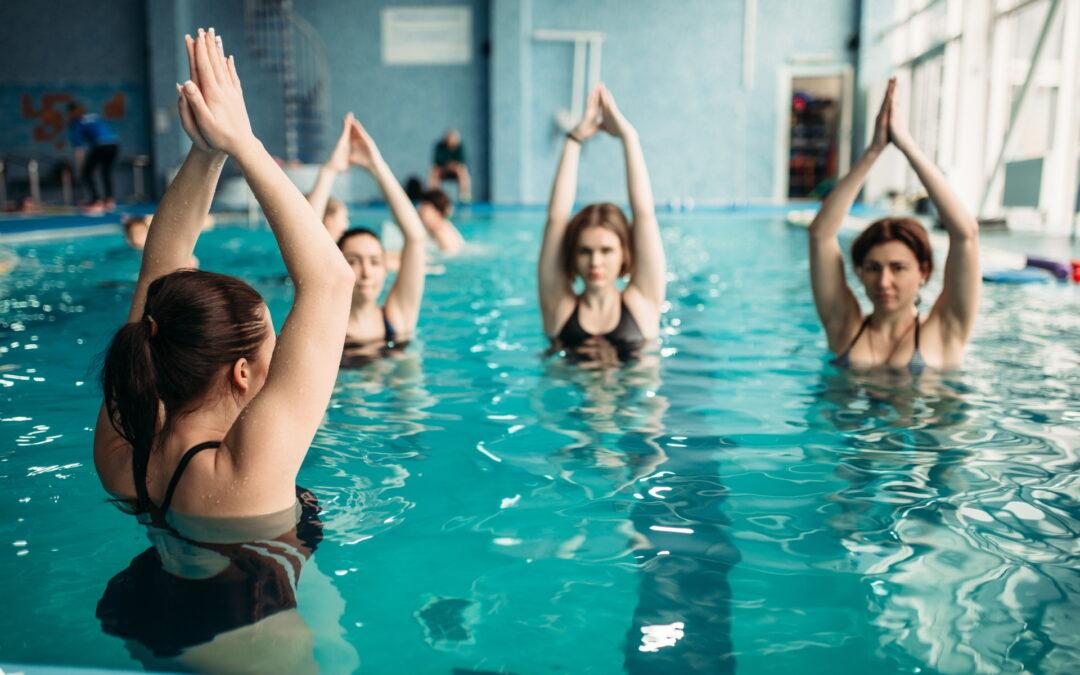 Aerobik w basenie domowym